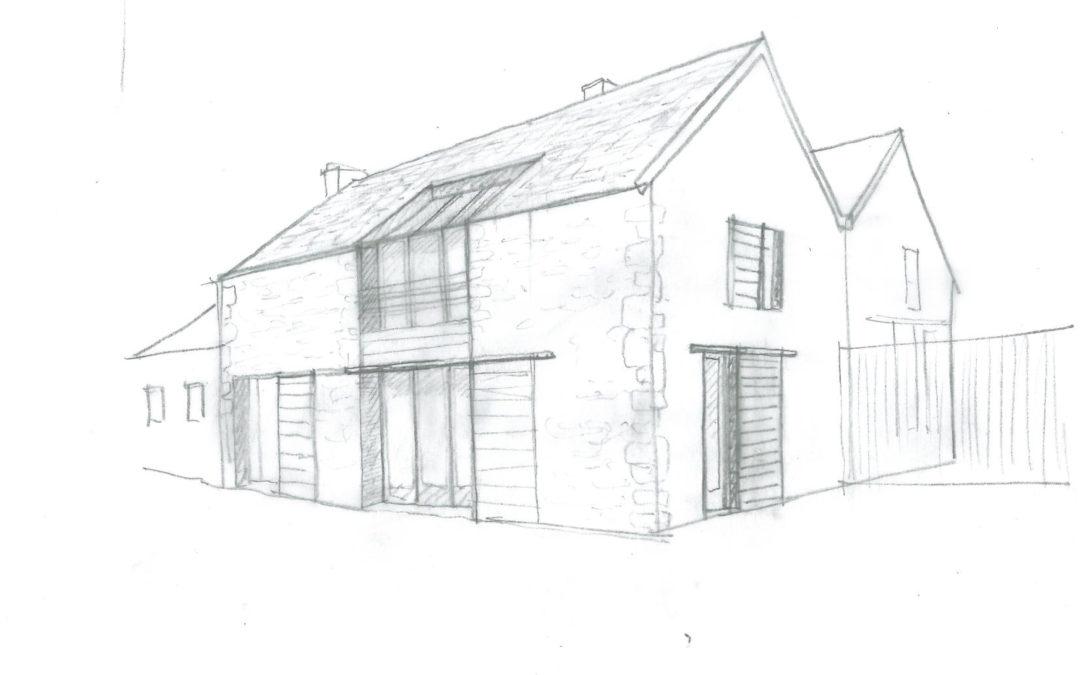 Logement dans une ancienne grange au Breuil