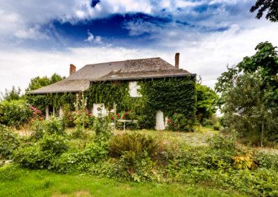 Rénovation d'une maison en site protégé en bord de Loire
