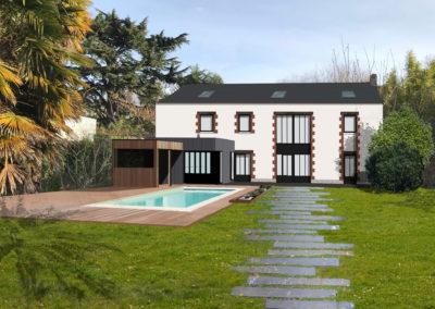 Rénovation d'une longère à Nantes