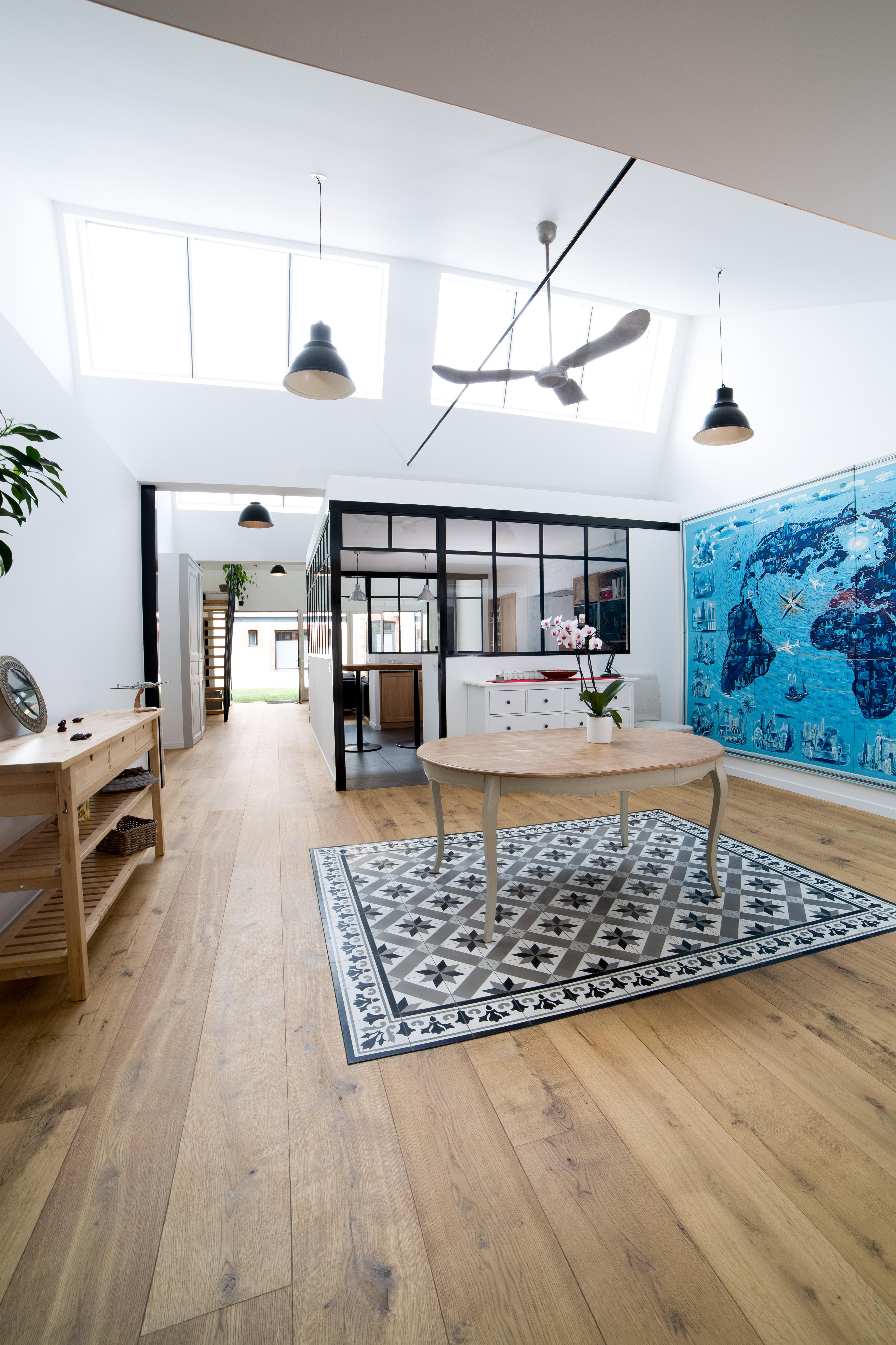 aménagement d'une usine en loft – l'atelier biloba