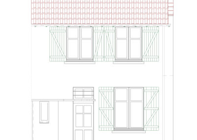 Extension d'une maison d'habitation en bord de mer