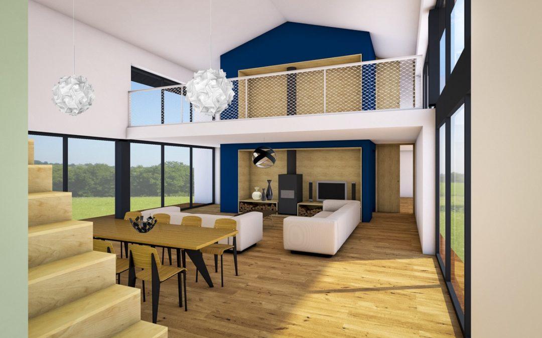 Etude de faisabilité pour la construction d'une maison neuve à Saint Clément de la Place