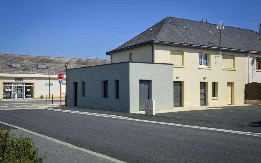 Extension d'une maison pour l'installation d'une cabinet d'infirmier à Saint Florent le Vieil