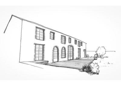 Etude de faisabilité pour la rénovation complète d'une longère à Saint-Père en Retz
